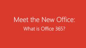 Meet New Office 365