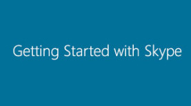 Getting Started with Skype